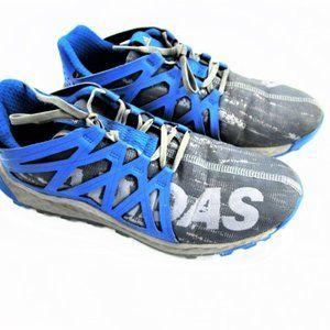 Men's Blue and Gray Adidas Vigor Bounce 9.5